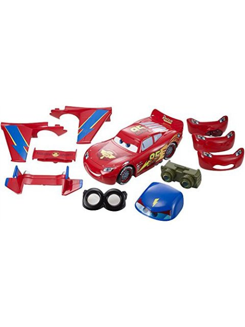 訳有特価】DESIGN & DRIVE LIGHTNING MCQUEEN PLAYSET