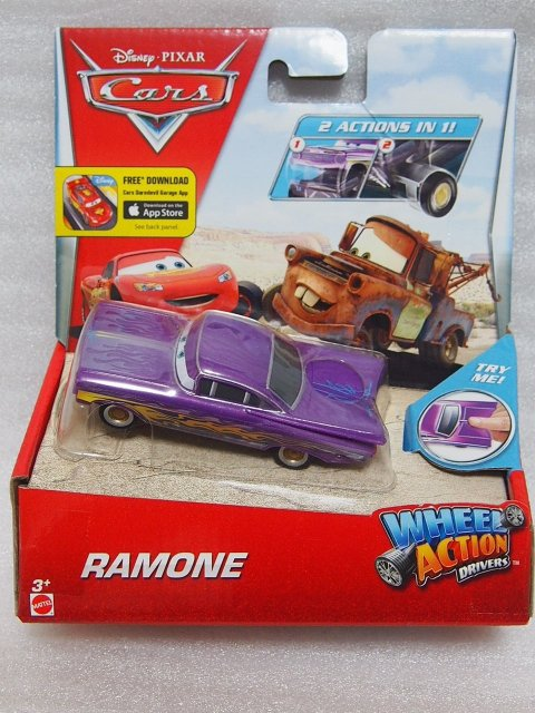 WHEEL ACTION DRIVERS PURPLE RAMONE