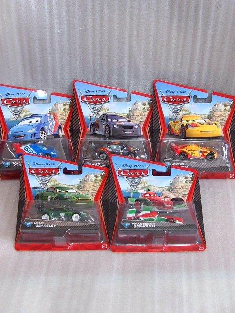ワールドグランプリレーサー5台セット 2011年パッケージ
