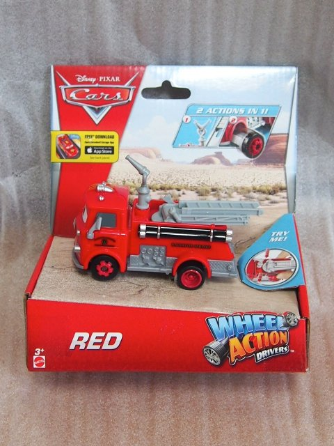 WHEEL ACTION DRIVERS RED DELUXE版