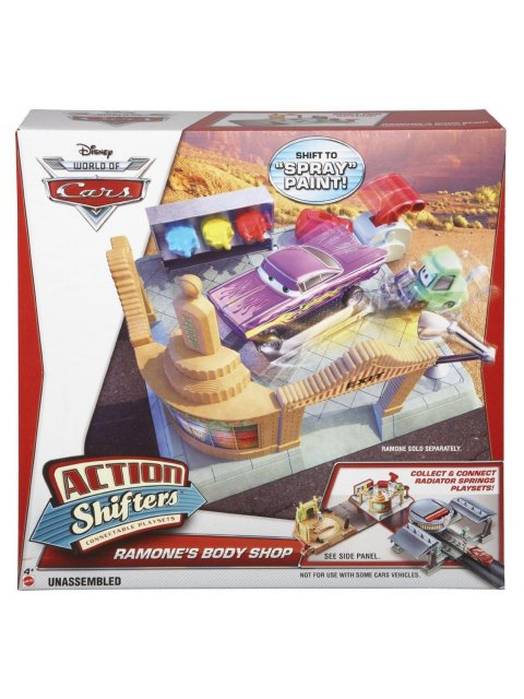 ACTION SHIFTERS RAMONE'S BODY SHOP PLAY SET
