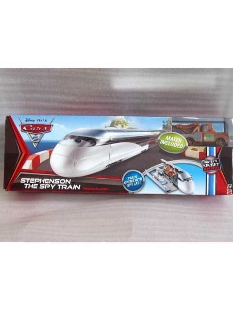 STEPHENSON THE SPY TRAIN PLAYSET