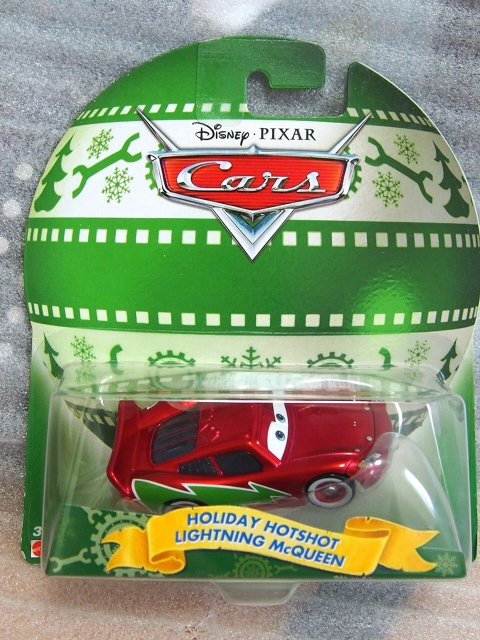 HOTSHOT LIGHTNING MCQUEEN【HOLIDAY SPIRIT 2016】