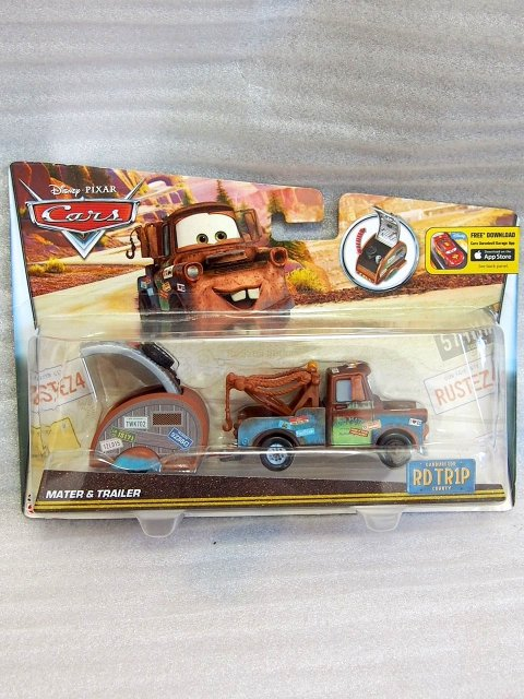 MATER WITH TRAILER ROAD TRIP series 2016
