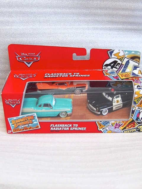 FLASHBACK TO RADIATOR SPRINGS GIFT PACK 2016 RSC版