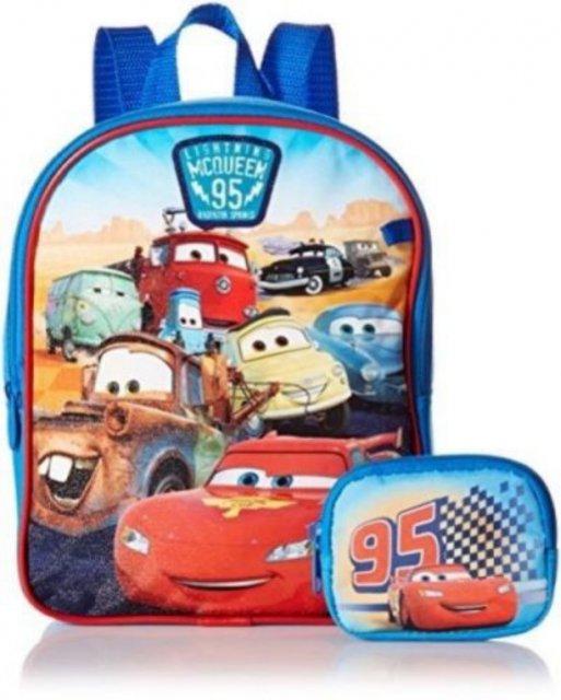 BOY'S CARS MINI BACKPACK カーズのリュックサック+小銭入れ