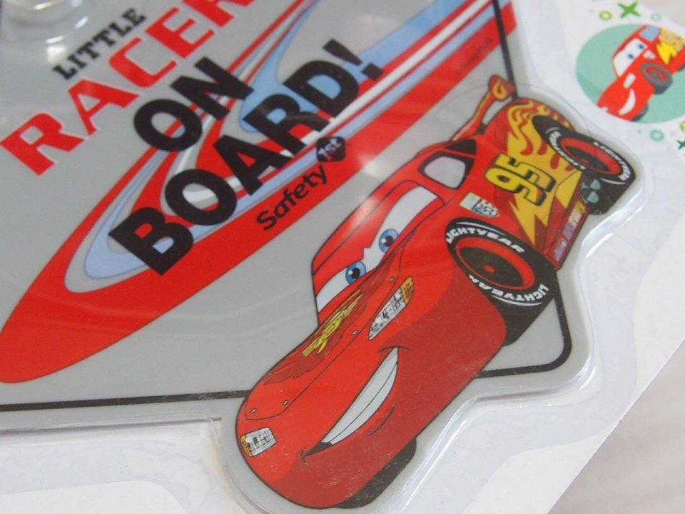 LITTLE RACER ON BOARD カーサイン 吸盤タイプ【送料180円】