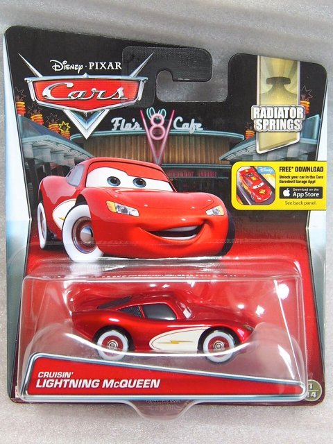 CRUISIN LIGHTNING MCQUEEN 2016 RSパッケー