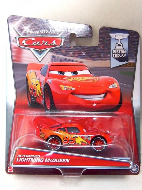 訳有特価】DETERMINED LIGHTNING McQUEEN 2015