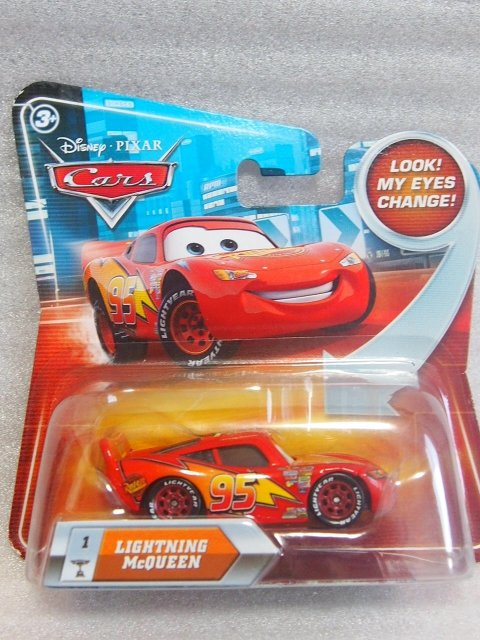LIGHTNING MCQUEEN  NS LOOK EYES CHANGE版