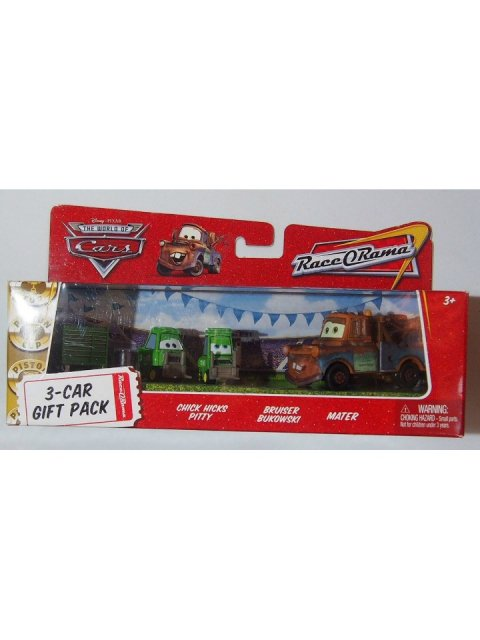 CHICKHICKS PITTY BRUISER BUKOWSKI MATER 3-CAR GIFT PACK ROR