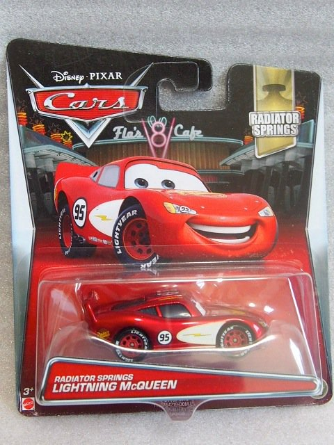 RADIATOR SPRINGS LIGHTNING MCQUEEN 2017