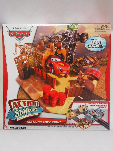 ACTION SHIFTERS MATER'S TOW YARD PLAYSET