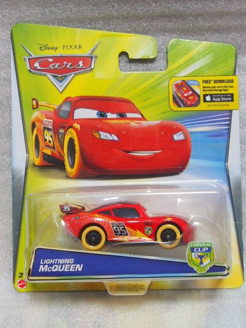 CARNIVAL CUP LIGHTNING MCQUEEN (YELLOW TIRE)
