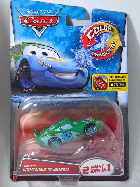 COLOR CHANGER DINOCO LIGHTNING MCQUEEN