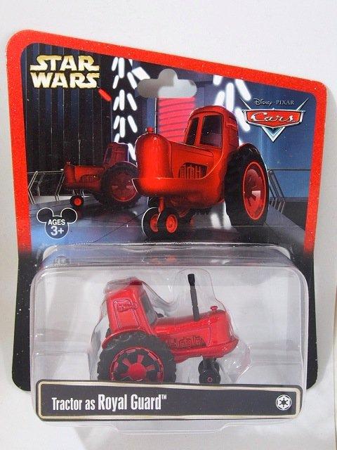 STAR WARS x CARS! TRACTOR AS ROYAL GUARD 2015年限定品
