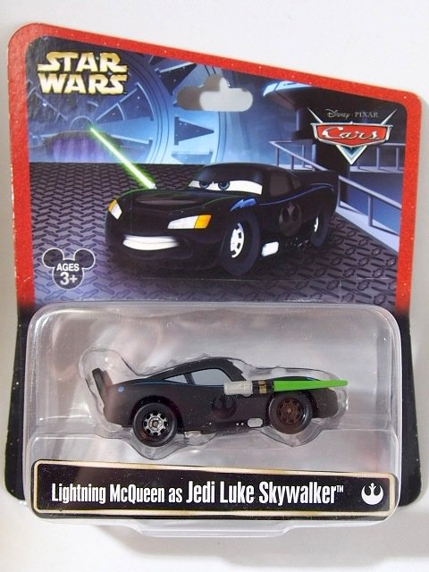 STAR WARS x CARS! LIGHTNING MCQUEEN ASJEDI LUKE SKYWALKER 2015年限定品