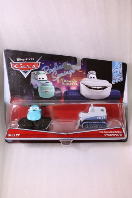 SULLEY AND YETI THE ABOMINABLE SNOWPLOW 2PACK 2017