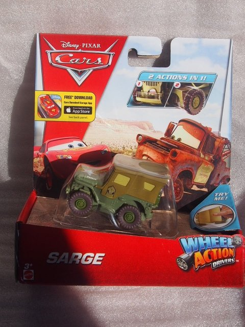 WHEEL ACTION DRIVERS SARGE