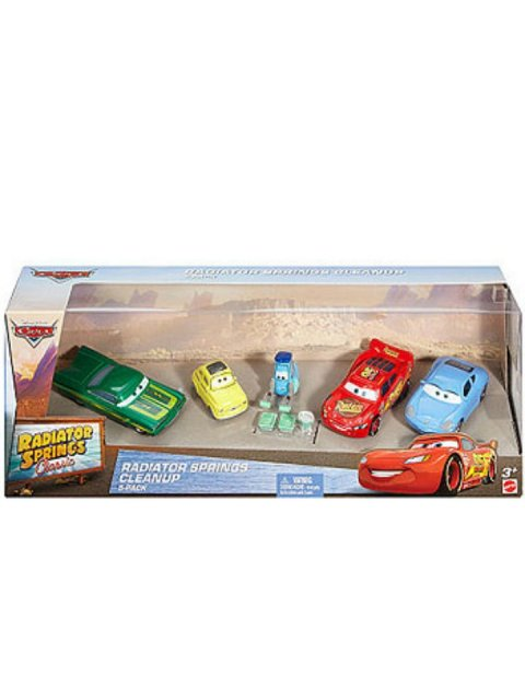 RADIATOR SPRINGS CLEANUP 5PACK