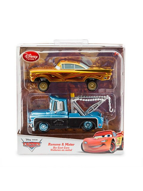 DISNEY STORE| RAMONE and MATER 2PACK