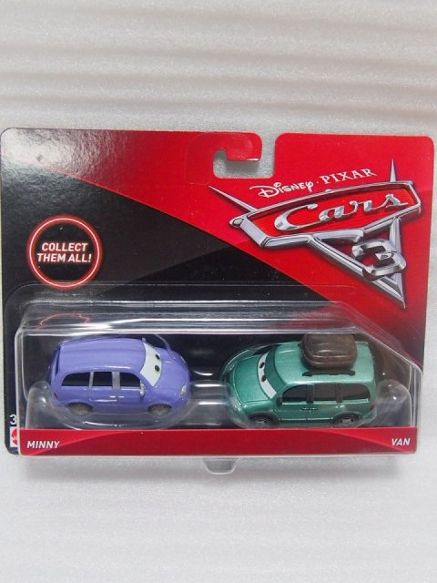 訳有特価】MINNY AND VAN 2pack版 CARS3