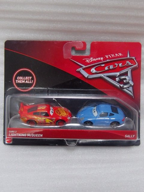 CARS3 LIGHTNING MCQUEEN AND SALLY 2pack版 CARS3