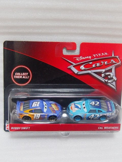 訳有特価】BOBBY SWIFT AND CAL WEATHERS 2pack版 CARS3