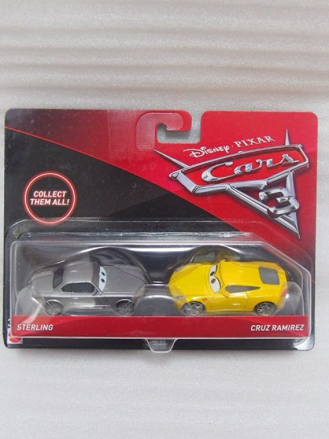 訳有特価】STERLING AND CRUZ RAMIREZ 2pack版 CARS3