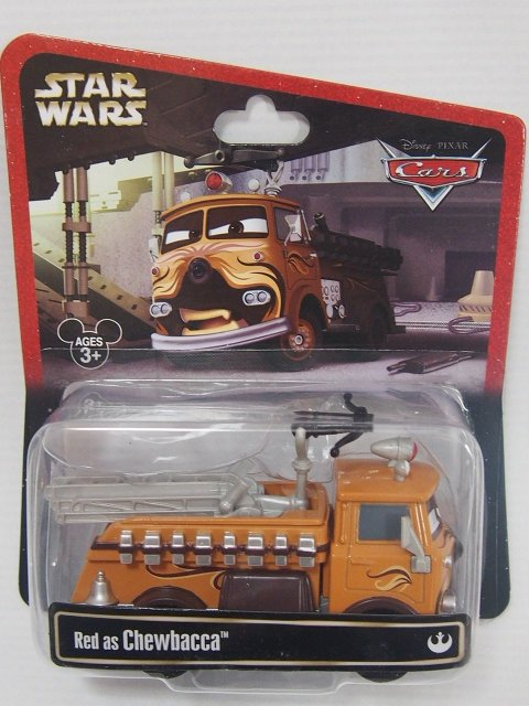 STAR WARS x CARS! RED AS CHEWBACCA 2014年限定品