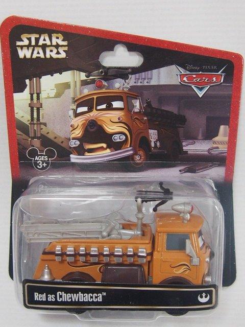 STAR WARS x CARS! RED AS CHEWBACCA 2014年限定品