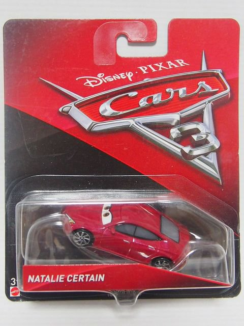 NATALIE CERTAIN CARS3版