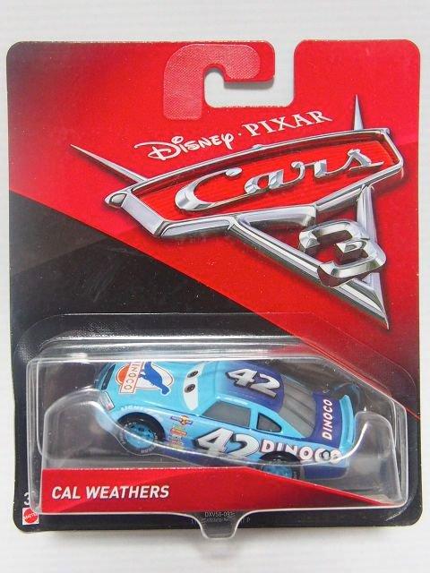 CAL WEATHERS NO.42 DINOCO CARS3版