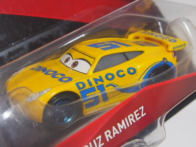 DINOCO CRUZ RAMIREZ NO.51CARS3版(初期 水色ラベル)