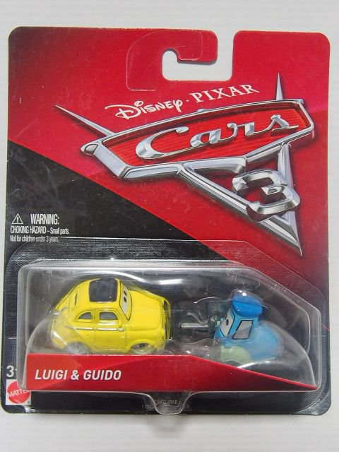LUIGI AND GUIDO CARS3版