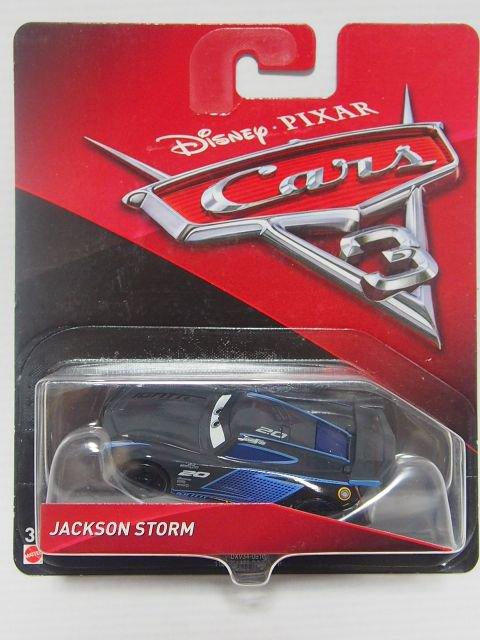 JACKSON STORM CARS3版 初期? リアガラス補強 無し 版