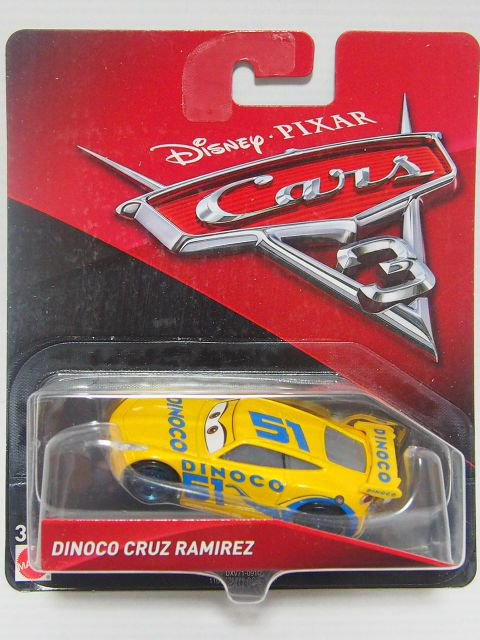 訳有特価】DINOCO CRUZ RAMIREZ NO.51CARS3版