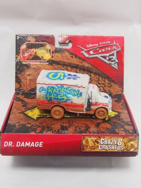 CARS3 CRAZY 8 CRASHERS DR.DAMAGE