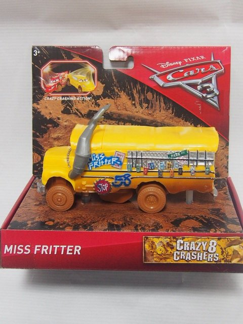CARS3 CRAZY 8 CRASHERS MISS FRITTER