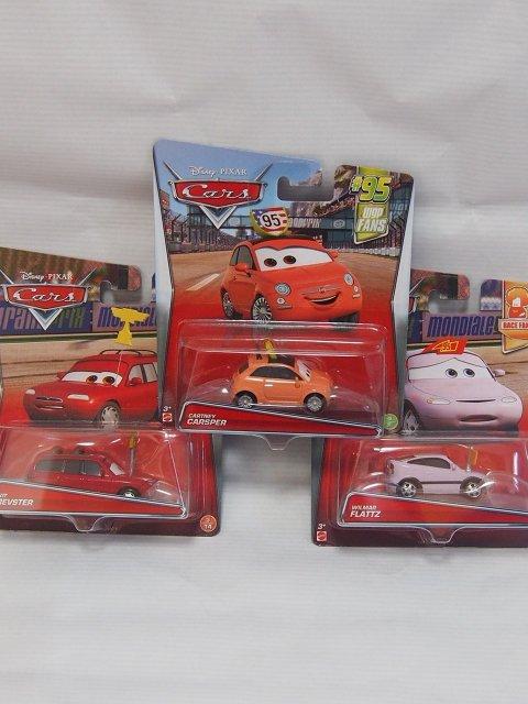 レースファン3台セットA【cartney/flattz/kit】