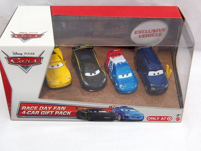 訳有特価】RACE DAY FAN 4-CAR GIFT PACK: CLUTCH FOSTER