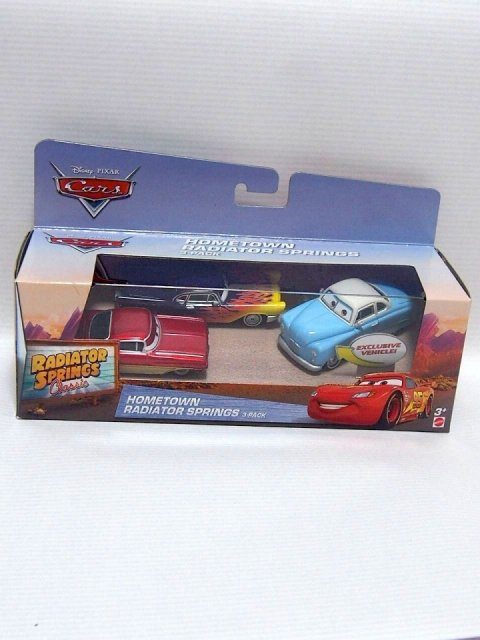 HOMETOWN RADIATOR SPRINGS 3pack 2017 RSC版