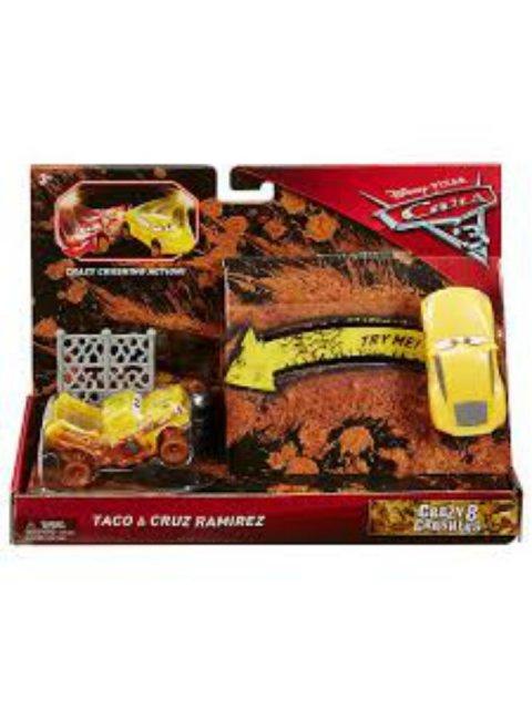 CARS3 CRAZY 8 TACO and CRUZ RAMIREZ 2pack