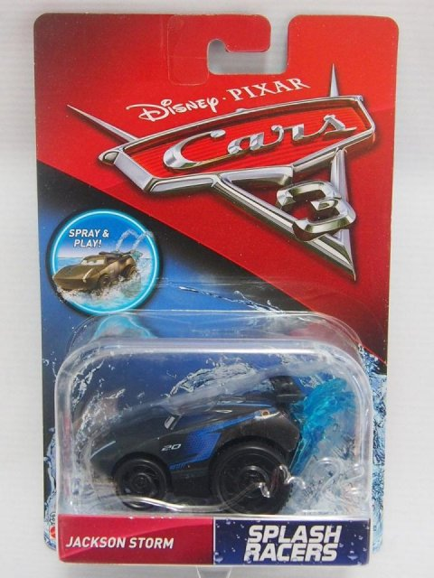訳有特価】CARS3 SPLASH RACERS JACKSON STORM