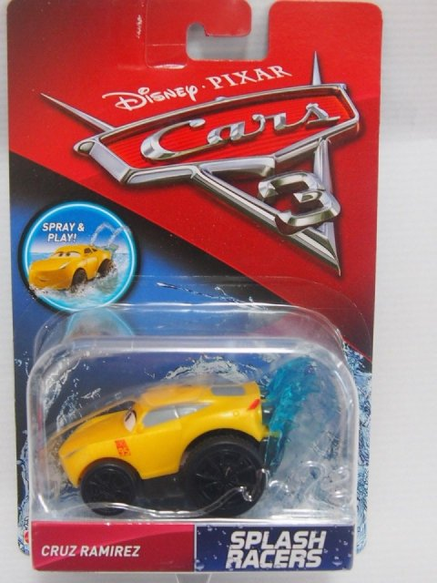訳有特価】CARS3 SPLASH RACERS CRUZ RAMIREZ