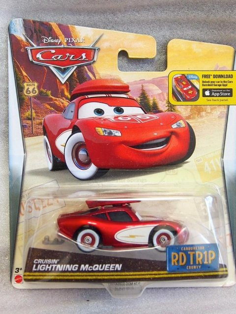 訳有特価】CRUISIN LIGHTNING MCQUEEN ROAD TRIP series 2016