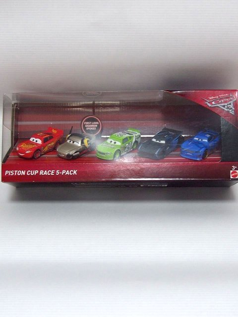 CARS3 PISTON CUP RACE 5-PACK