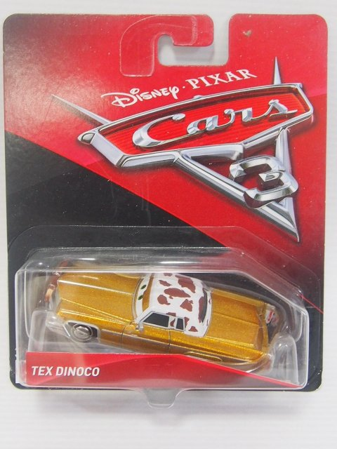 TEX DINOCO CARS3版