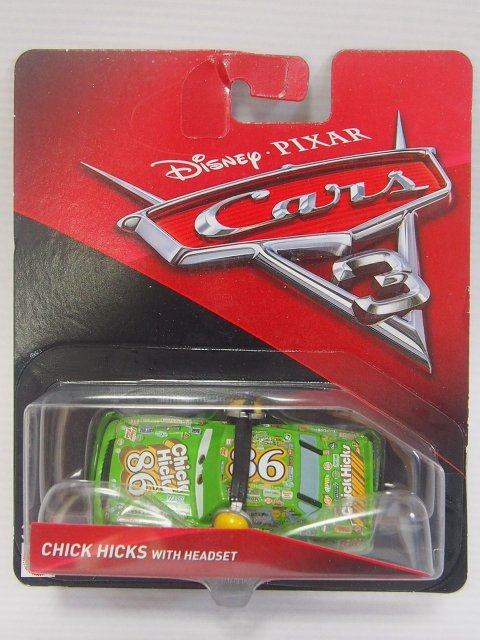 CHICK HICKS WITH HEADSET CARS3版