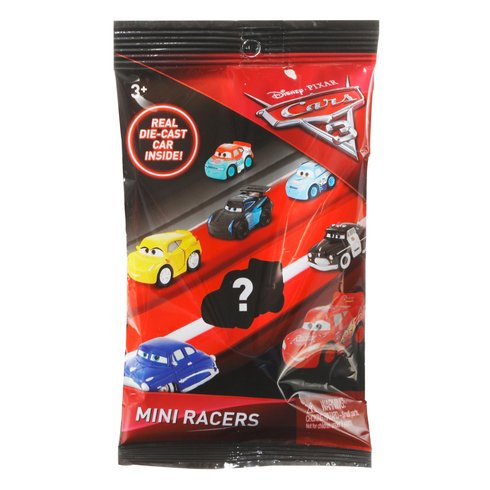 MINI RACERS CHICK HICKS  CARS3 REAL DIE-CAST CAR